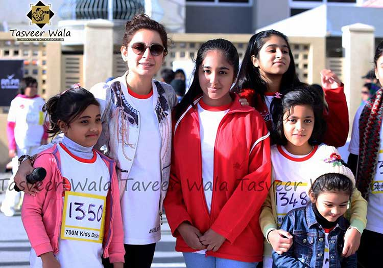 2nd SOP Unified Marathon: Sarwat Gillani was among the chief guests at the event