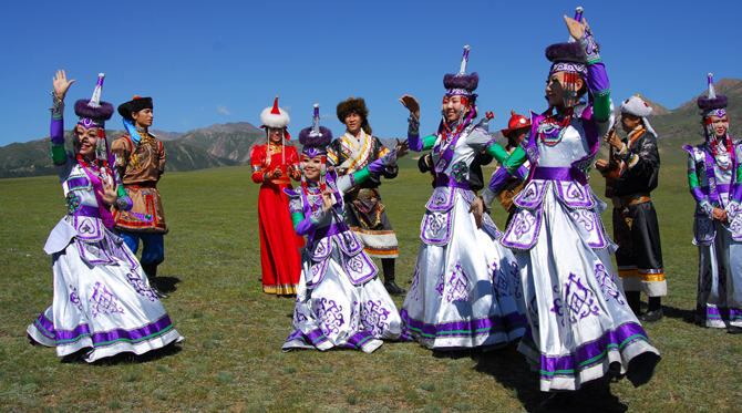 Mongolians of Xinjiang, China