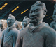 THE TERRACOTTA WARRIORS UNEARTHED IN THE MAUSOLEUM OF THE FIRST QIN EMPEROR