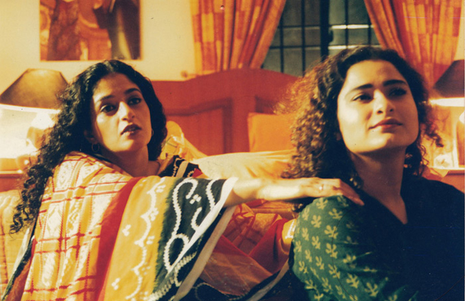 Sania Saeed with Nadia Jameel in a Mehreen Jabbar venture