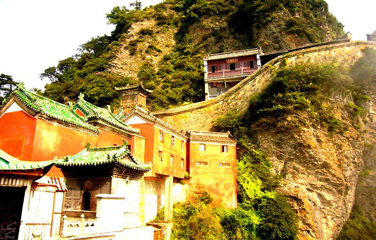 Ancient Building Complex in the Wudang Mountains in China