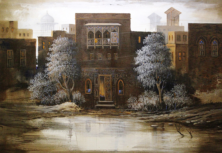Architectural Paintings Exhibition at Nomad Gallery