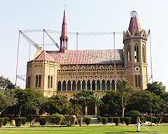 Architecture of Frere Hall Karachi