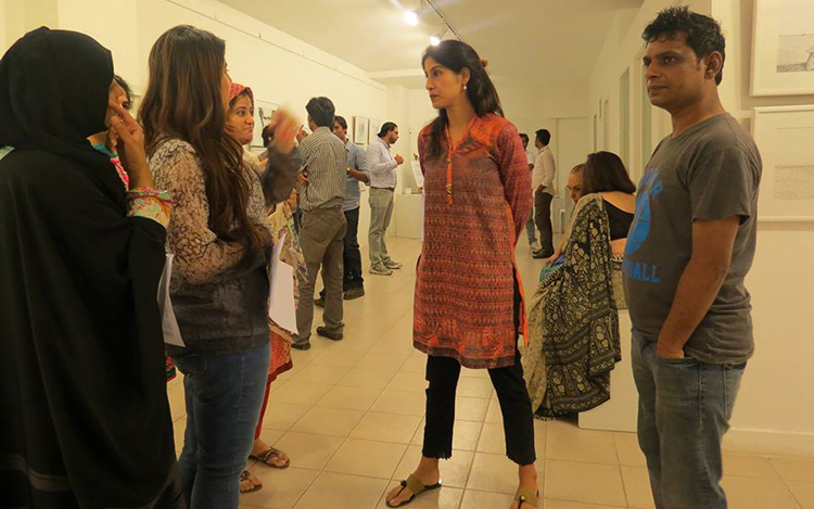 Art Exhibition 'The Future is Now' at ArtChowk, Karachi