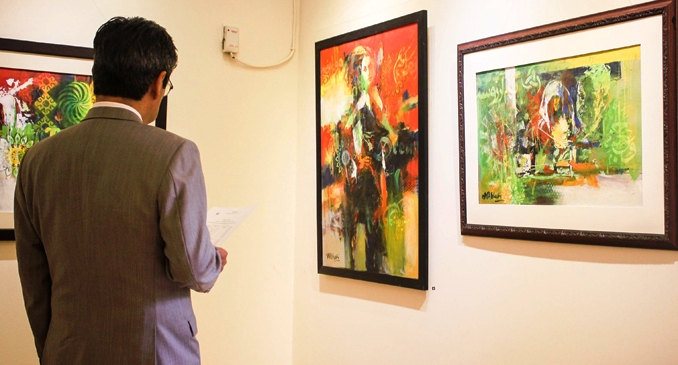 Art Exhibition: The Power of Illusions at Nomad Art Gallery