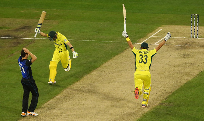 Australia Pulverizes New Zealand to Bag World Cup 2015 Trophy