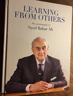 Learn from Others by Syed Babar Ali at LLF 2016