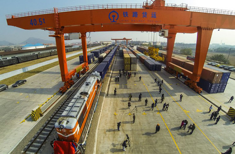 International Cargo Train from Xinjiang to Turkey - Cargo Trains from Xinjiang to Turkey: New Access for the Silk Road Economic Belt