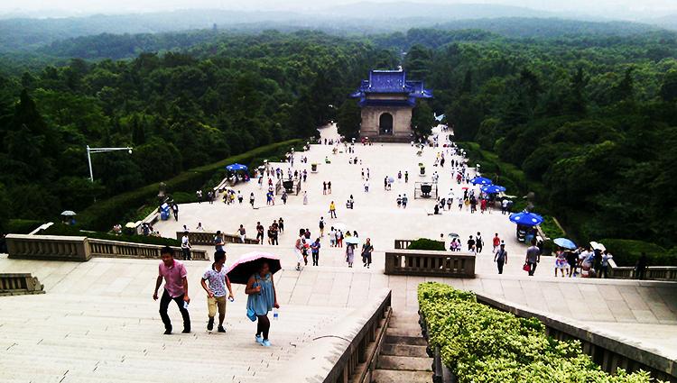Mausoleum of Sun Yat-sen, Nanjing - China in the Eyes of a Pakistani Scholar