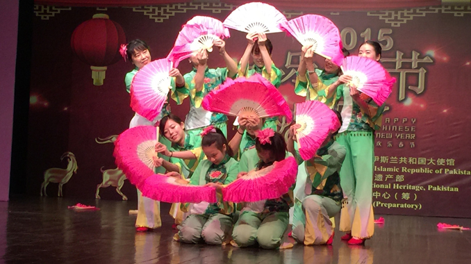 Chinese New Year 2015 celebrations at PNCA Islamabad