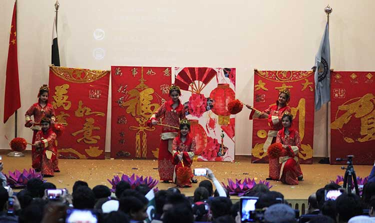 Chinese Spring Festival at NUML, Islamabad