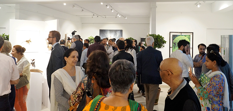 Climate Change Art Exhibition at Gallery 6 Islamabad