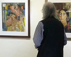 Collective Art Exhibition at Nomad Gallery Islamabad