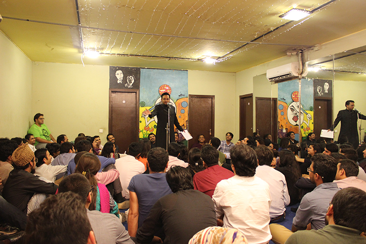 Comedy Show by LOL Waalay at MAD School Karachi
