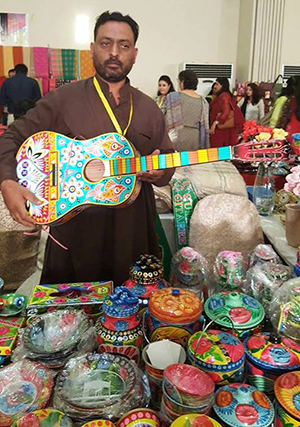 Daachi Arts and Crafts Exhibition 2016 in Lahore
