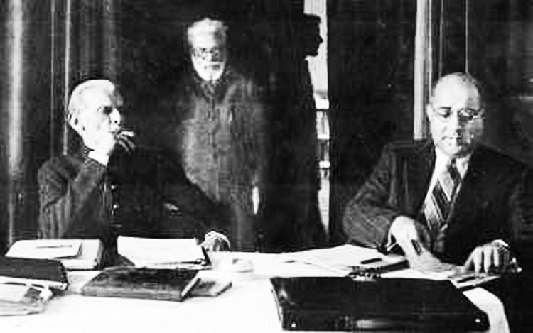 Quaid with Liaqat Ali Khan - Death Anniversary of Quiad-e-Azam, September 11, 1948
