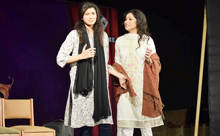 Sophia Ather from LUMS gave a memorable performance