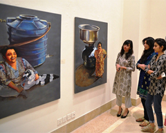 Exhibition In Plain Sight at Satrang Art Gallery