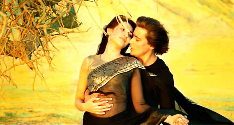 Abeer Rizvi and Sahir Lodhi in the song 'Dil Faqeer' - Film Raasta by Sahir Lodhi