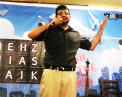 Fresh off the Plane by Shehzad Ghias Sheikh at MAD School, Karachi