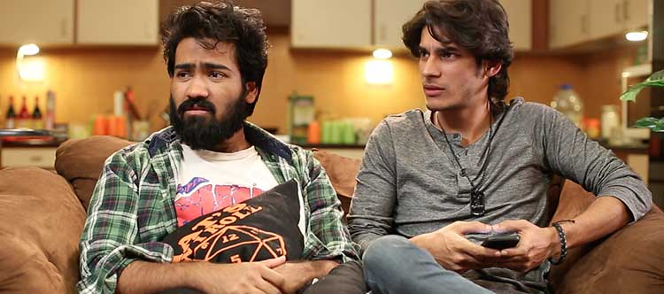 Hash Stages Theatre by Hadi bin Arshad: The two paying guests, Jonty and Sameer