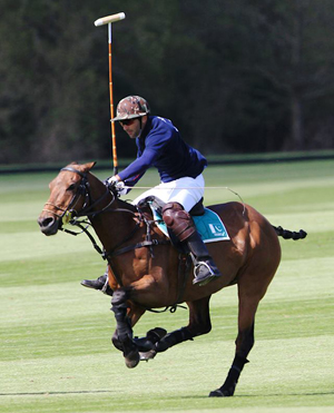 Pakistani Polo Player Hissam Hyder