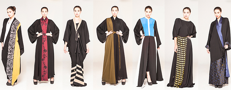 Homa Qamar's Chic Abaya Collection