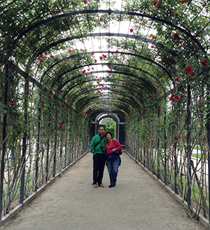 In the gardens of Schonbrunn Palace