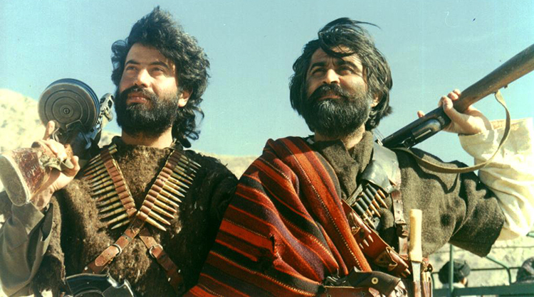 Jamal Shah (R) with Hayatullah Khan Durrani in 'Palay Shah' - Interview with Jamal Shah