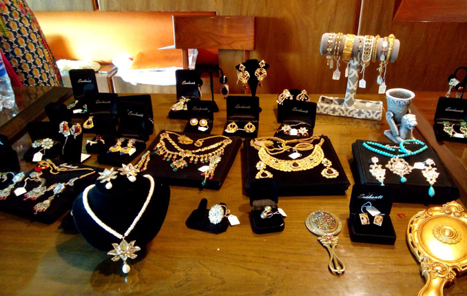 A glimpse of Enchanté's Persian themed jewellery pieces - Jewellery Exhibition in Karachi: 'Persian Nights - The Timeless Saga'