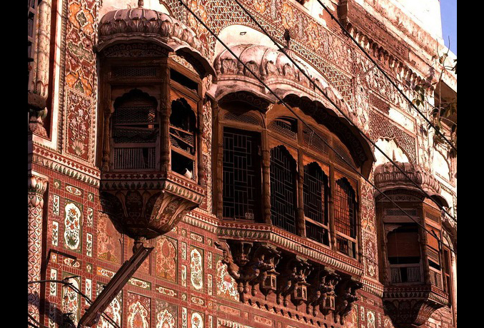 Havelis in Delhi Gate (Image provided by WCLA) - Kamran Lashari: On the Walled City of Lahore