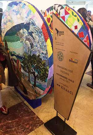 Karachi Biennale: Reel On Hai - Reel art by Piecemakers Guild