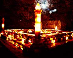 Khewra Salt Mine Inside
