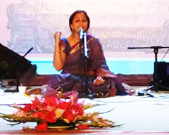 KLF Day 1: Vidya Shah and Zoe Viccaji in Concert