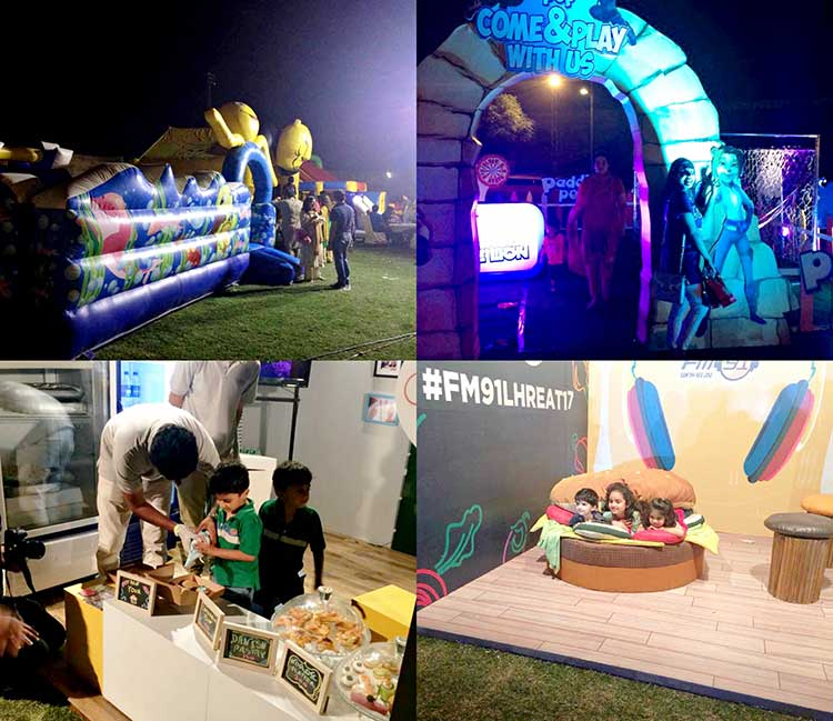 A variety of activities were organized to keep the children engaged - Lahore Eat 2017