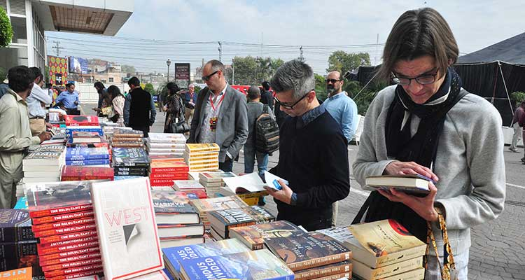 Lahore Literary Festival (LLF) 2017: Books on display at the festival