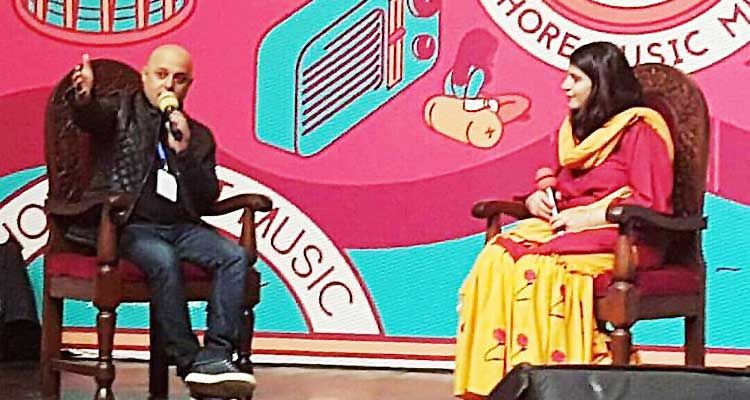 Lahore Music Meet (LMM 2017): Ali Azmat with LMM Co-Founder Natasha Noorani