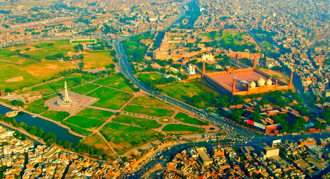 The Badshahi Mosque and Minar-e-Pakistan - Lahore: Second Largest City of Pakistan