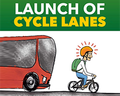Launch of Bicycle Lane in Islamabad