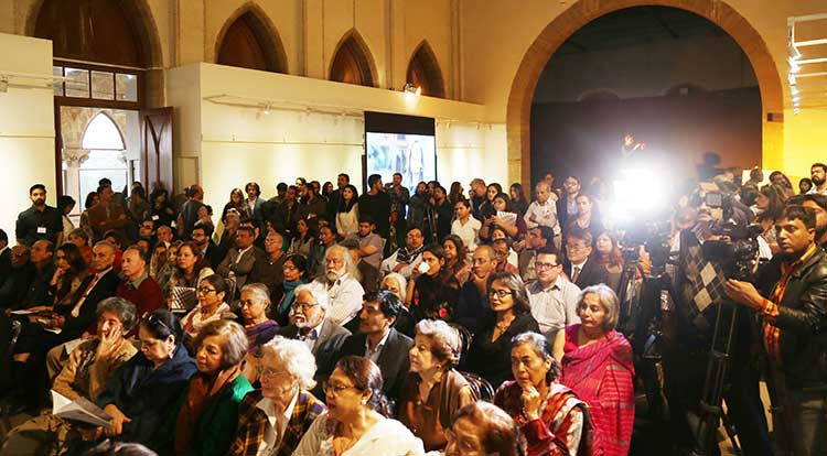 Audience at Karachi Biennale 2017
