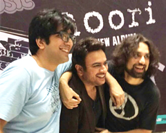 Launch of Noori's New Album at Fortress square, Lahore