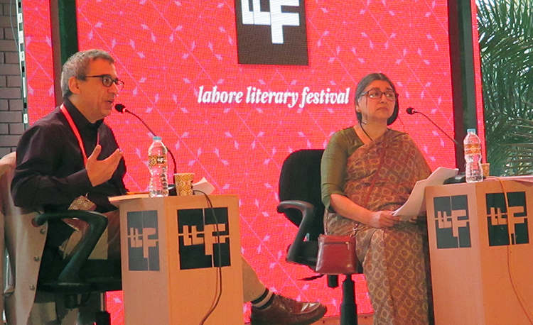Prof. Javed Majeed and Nasreen Rehman - LLF 2016 Day 2: 'Iqbal: Islam, Aesthetics and Post-colonialism'