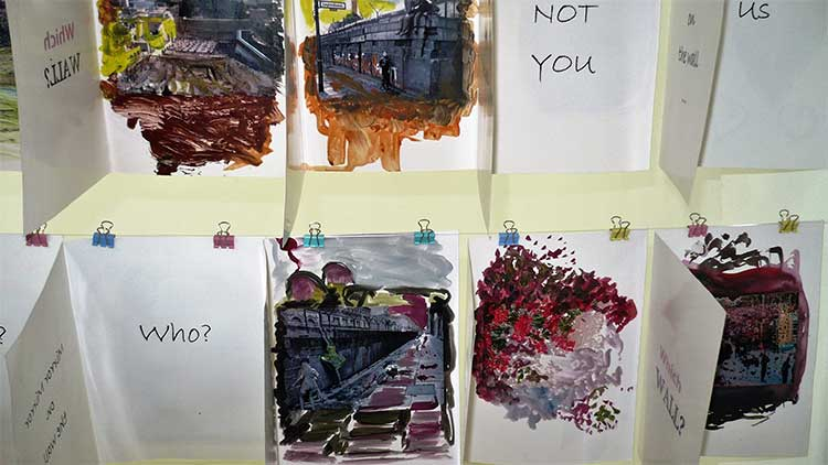 Love Letters Art Exhibition at Sanat Initiative Karachi: Greeting cards by Sehr Jalil