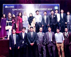 LUMS Initiative for Environment 2015