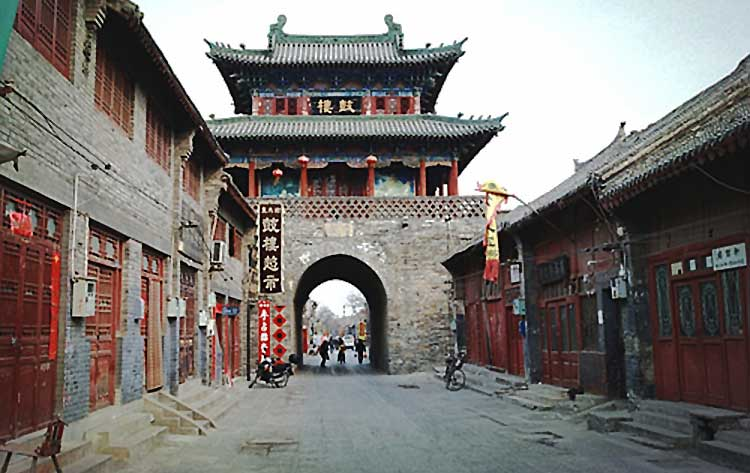 The Drum Tower in Luoyang Old Town District (source - Visit Our China) - Luoyang, a Hallmark along the Silk Road