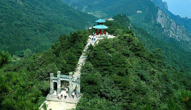 Lushan National Park in Chian