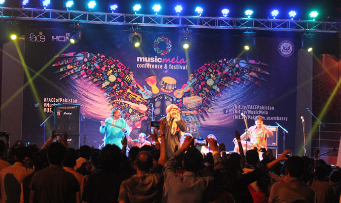 Music Mela 2015 at PNCA Islamabad