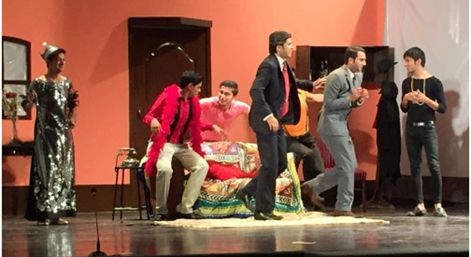 Musical Comedy Play 'The Producers' by LUMS