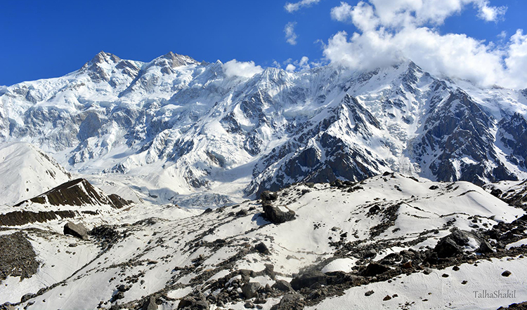 Nanga Parbat (photo by Talha Shakil) - Nanga Parbat Base Camp