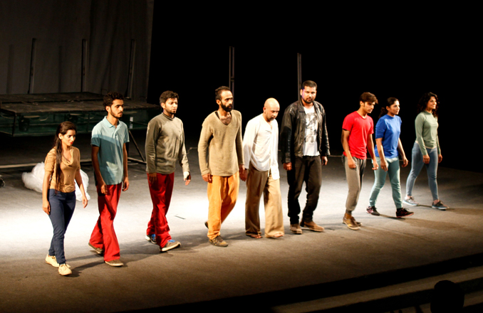 NAPA International Theatre Festival 2015 Karachi: Stage Play Among Fog